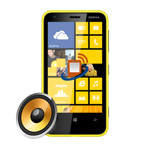 Nokia Lumia 620 Earpiece Repair