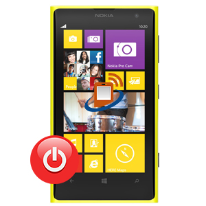 Nokia Lumia 1020 Power Button Repair