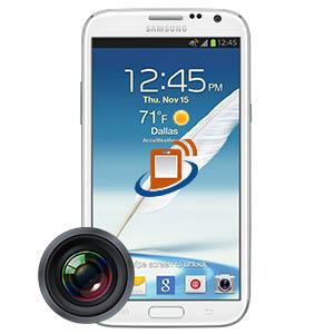 Samsung Note 2 Rear Camera Repair