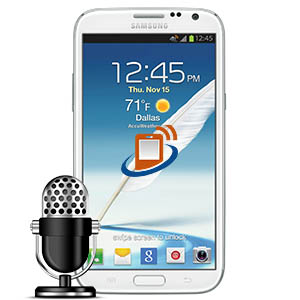 Samsung Note 2 Microphone Repair