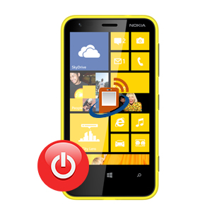Nokia Lumia 620 Power Button Repair