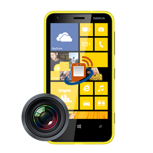 Nokia Lumia 620 Rear Camera Repair