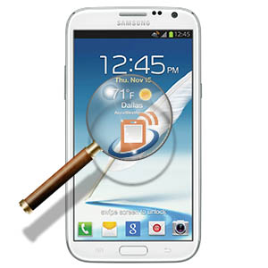 Samsung Note 2 Unknown Fault / Problem Diagnosis
