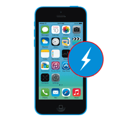 iPhone 5C Switching off