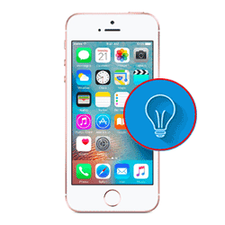iPhone SE LCD Back Light repair