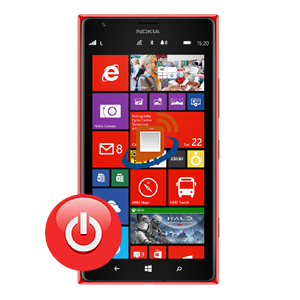 Nokia Lumia 1520 Power Button Repair