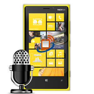 Nokia Lumia 920 Microphone Repair