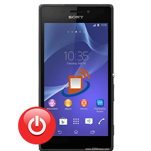 Sony Xpeira M 2 Power Button Repair