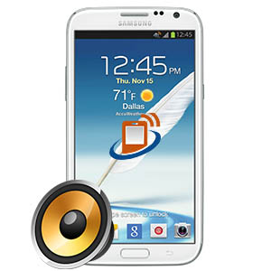 Samsung Note 2 Earpiece Repair