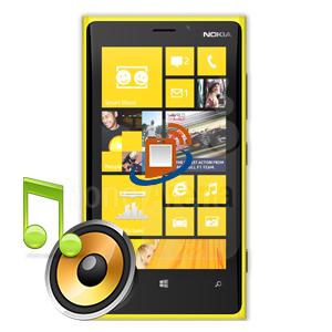 Nokia Lumia 920 Loudspeaker Repair
