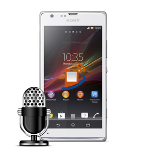 Sony Xperia SP Microphone Repair