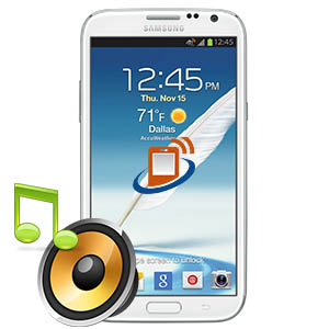Samsung Note 2 Loudspeaker Repair