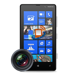 Nokia Lumia 820 Rear Camera Repair