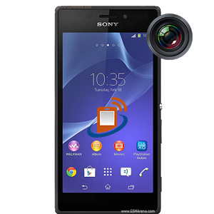 Sony Xperia M 2 Front Camera Repair