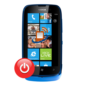 Nokia Lumia 610 Power Button Repair