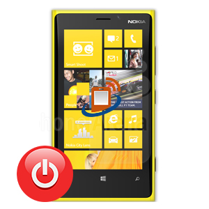 Nokia Lumia 920 Power Button Repair
