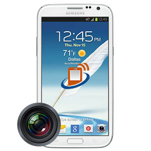 Samsung Note 2 Rear Camera Repair