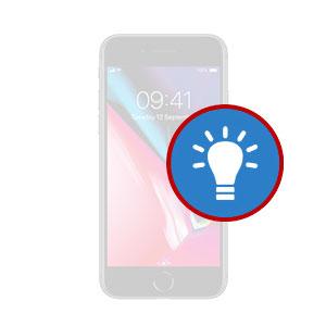 iPhone 8 Plus LCD Back Light Repair Dubai, My Celcare JLT,