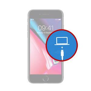 iPhone 8 Plus Restore Mode Fix in Dubai, My Celcare JLT,