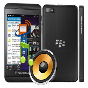 BlackBerry Z10 Loudspeaker
