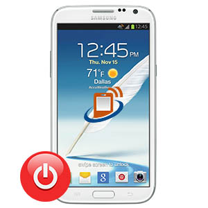Samsung Note 2 Power Button Repair