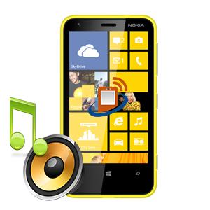 Nokia Lumia 620 Loudspeaker Repair