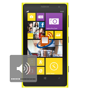 Nokia Lumia 1020 Volume & Mute Buttons Repair