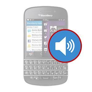 BlackBerry Q10 Loudspeaker Replacement Dubai, My Celcare JLT,