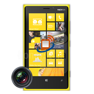 Nokia Lumia 920 Rear Camera Repair