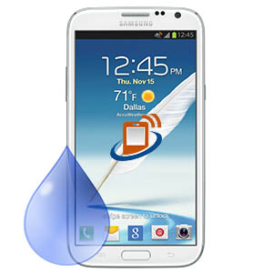 Samsung Note 2 Water / Liquid Damag Recovery