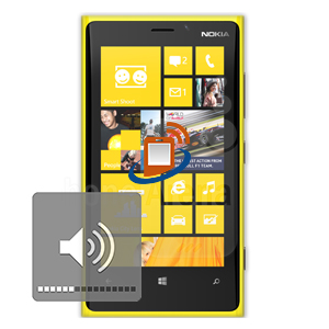Nokia Lumia 920 Volume & Mute Buttons Repair