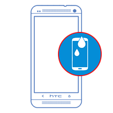 HTC Desire 500 Water Or Liquid Damage