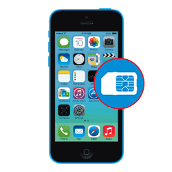 iPhone 5C SIM Reader Repair