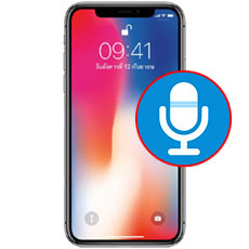 iPhone X Microphone Repair Dubai